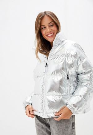 Куртка утепленная Napapijri ART. Цвет: серебряный