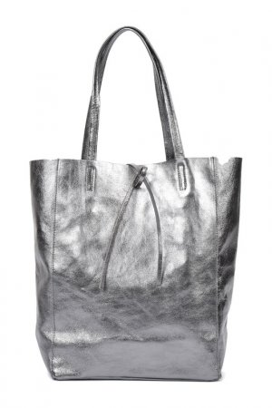 Bag CARLA FERRERI. Цвет: silver