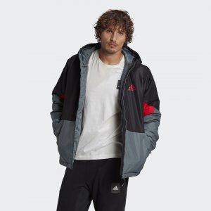 Утепленная куртка Back to Sport Performance adidas. Цвет: серый