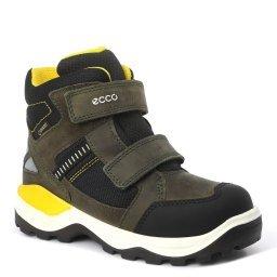 Кроссовки 710242 темно-зеленый ECCO