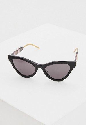 Очки солнцезащитные Gucci GG0597S 001. Цвет: черный