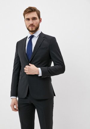 Пиджак Hugo AldonS. Цвет: серый