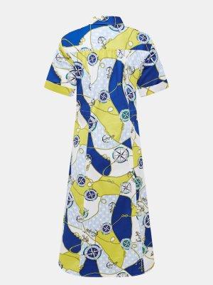 Платье Basler. Цвет: multikolor