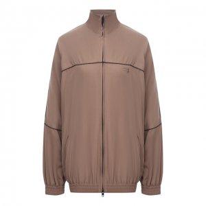 Куртка Balenciaga. Цвет: коричневый