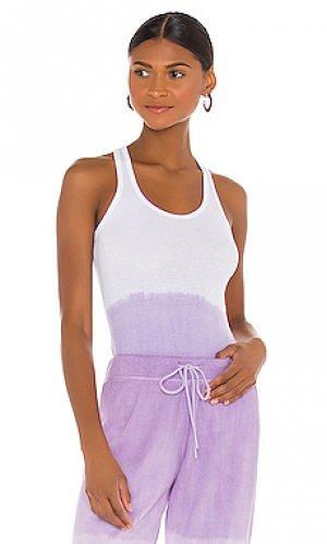 Майка ashby Splits59. Цвет: lavender,white