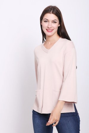 Пуловер Pezzo. Цвет: розовый