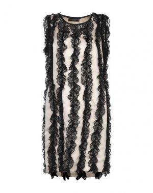 Короткое платье ANNA RACHELE BLACK LABEL. Цвет: светло-розовый