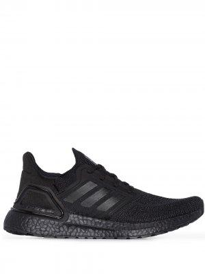 Кроссовки UltraBoost 20 adidas. Цвет: черный