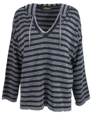 Трикотажный пуловер Les Copains. Цвет: разноцветный
