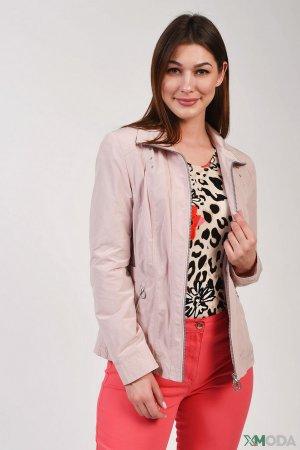 Куртка Lebek. Цвет: розовый