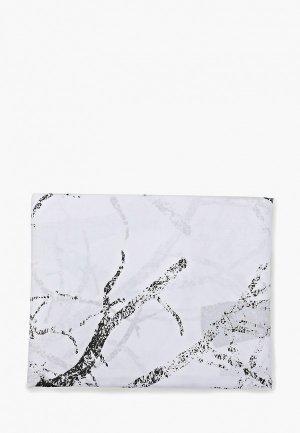 Штора для ванной Bath plus. Цвет: белый