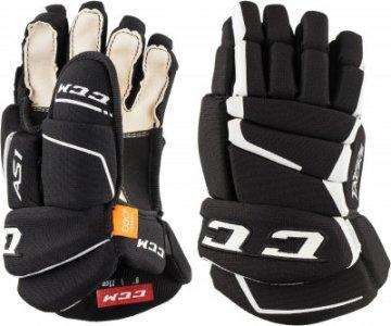 Перчатки хоккейные детские HGAS1 YTH CCM. Цвет: черный