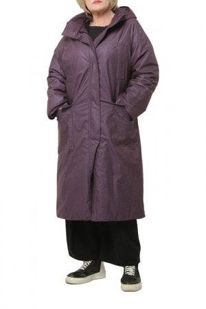 Пальто Kata Binska. Цвет: фиолетовый
