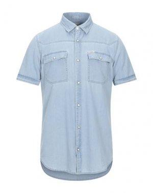 Джинсовая рубашка GARCIA. Цвет: синий
