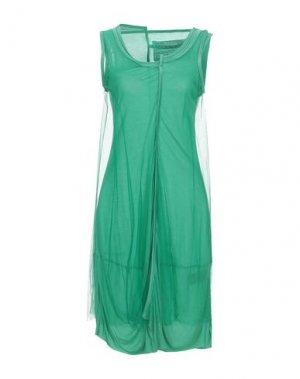 Короткое платье BLACK LABEL. Цвет: светло-зеленый