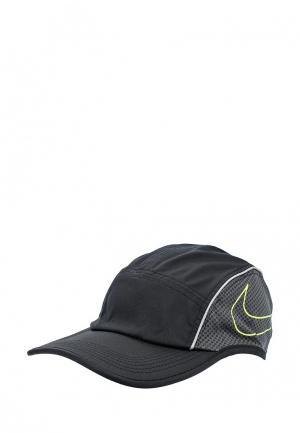 Бейсболка Nike Unisex AeroBill AW84 Running Cap. Цвет: черный