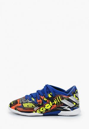 Бутсы зальные adidas NEMEZIZ MESSI 19.3 TF. Цвет: разноцветный