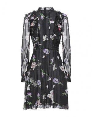 Короткое платье GIAMBATTISTA VALLI. Цвет: черный