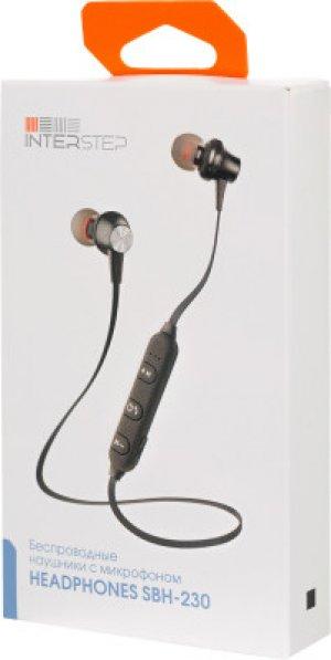 Беспроводные наушники Interstep SBH-230. Цвет: черный