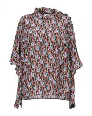 Блузка ATTIC AND BARN. Цвет: пурпурный