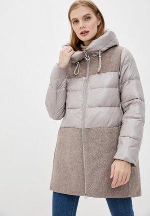 Куртка la Biali. Цвет: бежевый