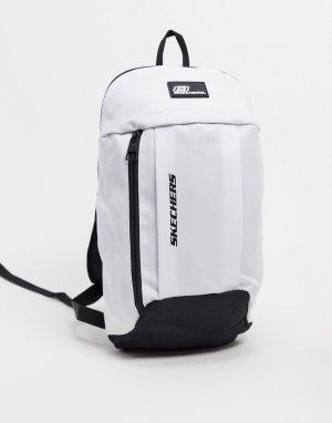 Белый рюкзак Skechers
