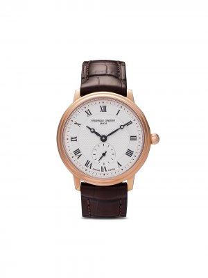 Наручные часы Slimline Ladies 29 мм Frédérique Constant. Цвет: розовый