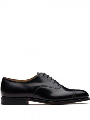 Churchs Barcroft lace-up Oxford shoes Church's. Цвет: черный