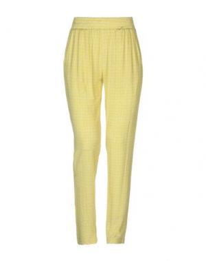 Повседневные брюки FAIRLY. Цвет: светло-зеленый