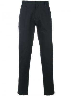Классические брюки с карманами клапанами Emporio Armani. Цвет: чёрный