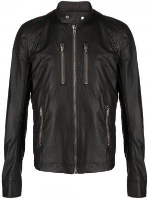 Куртка на молнии Rick Owens. Цвет: черный