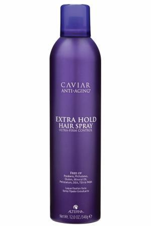 Лак сильной фиксации Caviar Anti-Aging Extra-Hold Hair Spray 400ml Alterna. Цвет: без цвета