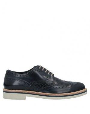 Обувь на шнурках ANGELO NARDELLI. Цвет: темно-синий