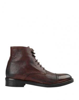 Полусапоги и высокие ботинки JP/DAVID. Цвет: желто-коричневый