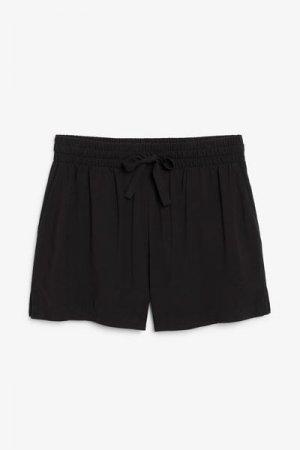 Пляжные шорты Monki. Цвет: черный