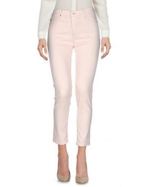 Повседневные брюки AG JEANS. Цвет: светло-розовый