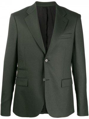 Однобортный пиджак Stella McCartney. Цвет: зеленый