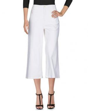 Джинсовые брюки-капри MADEWELL. Цвет: белый
