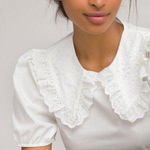 Блузка LaRedoute. Цвет: белый