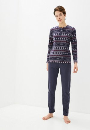 Пижама Blackspade. Цвет: синий