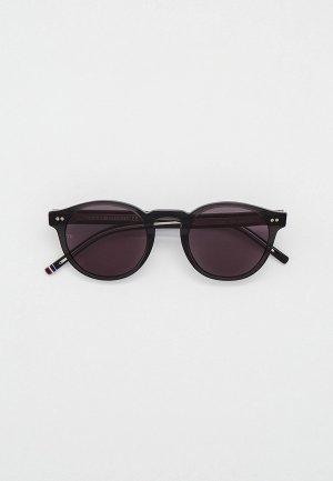 Очки солнцезащитные Tommy Hilfiger TH 1795/S KB7. Цвет: черный