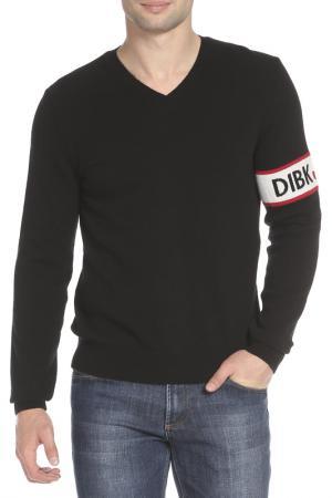 Пуловер Bikkembergs. Цвет: 009 black