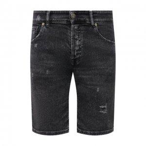 Джинсовые шорты PREMIUM MOOD DENIM SUPERIOR. Цвет: серый
