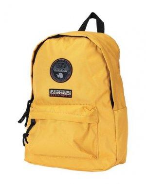 Рюкзаки и сумки на пояс NAPAPIJRI. Цвет: охра