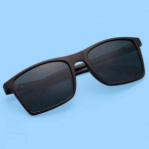 Мужские поляризованные солнцезащитные очки SHEIN. Цвет: чёрный