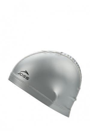 Шапочка для плавания Joss Polyester swim cap. Цвет: серый