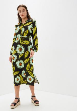 Платье UNQ. Цвет: черный