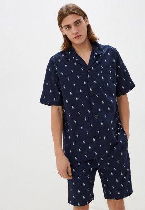 Пижама Polo Ralph Lauren. Цвет: синий