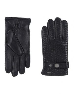 Перчатки LAGERFELD. Цвет: черный