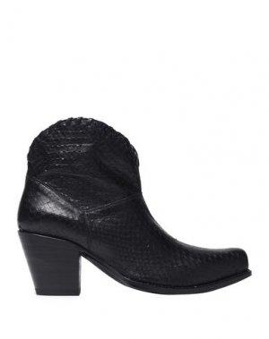 Полусапоги и высокие ботинки ALICE + OLIVIA. Цвет: черный